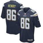 Nike Hunter Henry Los Angeles Chargers Navy Game Jersey