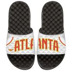 ISlide Atlanta Hawks Youth White Home Jersey Slide Sandals