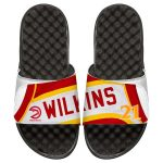 ISlide Dominique Wilkins Atlanta Hawks Youth Retro Jersey Slide Sandals