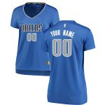 Fanatics Branded Dallas Mavericks Women's Royal Fast Break Custom Jersey - Icon Edition