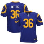 Nike Jerome Bettis Los Angeles Rams Youth Royal Retired Game Jersey