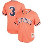 Mitchell & Ness Alan Trammell Detroit Tigers Orange Fashion Cooperstown Collection Mesh Batting Practice Jersey