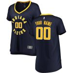 Fanatics Branded Indiana Pacers Women's Navy Fast Break Custom Jersey - Icon Edition