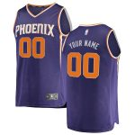 Fanatics Branded Phoenix Suns Purple Fast Break Custom Replica Jersey - Icon Edition