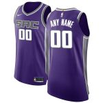 Nike Sacramento Kings Purple Authentic Custom Jersey - Icon Edition