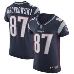 Nike Rob Gronkowski New England Patriots Navy Alternate Vapor Untouchable Elite Jersey