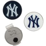 New York Yankees Hat Clip & Ball Markers Set
