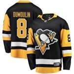 Fanatics Branded Brian Dumoulin Pittsburgh Penguins Black Home Breakaway Player Jersey