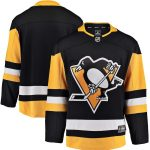 Fanatics Branded Pittsburgh Penguins Black Breakaway Home Jersey