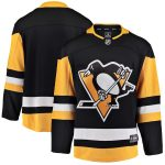 Fanatics Branded Pittsburgh Penguins Youth Black Breakaway Home Jersey