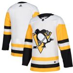 adidas Pittsburgh Penguins White Away Authentic Blank Jersey