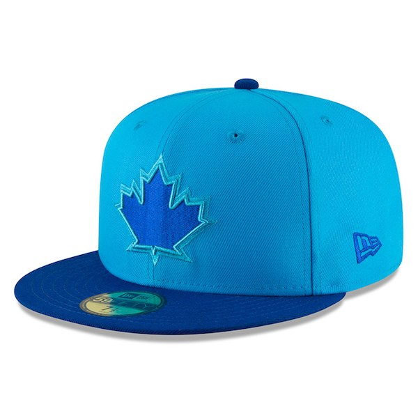 5e11325075dfd New Era Toronto Blue Jays Blue Blue 2018 Players  Weekend On-Field 59FIFTY Fitted  Hat - Gear Up For Sports