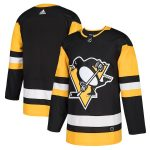 adidas Pittsburgh Penguins Black Home Authentic Blank Jersey