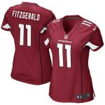 Nike Larry Fitzgerald Arizona Cardinals Girls Youth Cardinal Replica Game Jersey