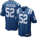 Nike D'Qwell Jackson Indianapolis Colts Royal Blue Game Jersey