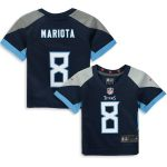 Nike Marcus Mariota Tennessee Titans Infant Navy Player Game Jersey