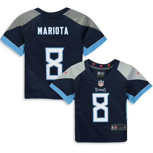 890cea10 Nike Marcus Mariota Tennessee Titans Infant Navy Player Game Jersey - Gear  Up For Sports