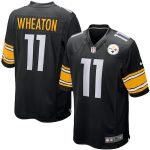 Nike Markus Wheaton Pittsburgh Steelers Black Game Jersey