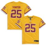 Nike Chris Thompson Washington Redskins Youth Gold Color Rush Alternate Player Game Jersey