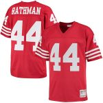 Mitchell & Ness Tom Rathman San Francisco 49ers Scarlet Retired Player Replica Jersey