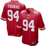 Nike Solomon Thomas San Francisco 49ers Scarlet Player Game Jersey