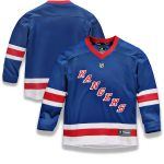 Fanatics Branded New York Rangers Youth Royal Home Replica Blank Jersey