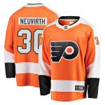 Fanatics Branded Michal Neuvirth Philadelphia Flyers Orange Breakaway Jersey