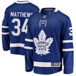 Fanatics Branded Auston Matthews Toronto Maple Leafs Youth Blue Home Breakaway Player Jersey
