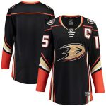 Fanatics Branded Anaheim Ducks Women's Black Breakaway Home Jersey
