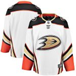 Fanatics Branded Anaheim Ducks White Breakaway Away Jersey