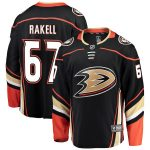 Fanatics Branded Rickard Rakell Anaheim Ducks Black Breakaway Player Jersey