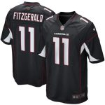Nike Larry Fitzgerald Arizona Cardinals Youth Black Alternate Game Jersey