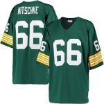 Mitchell & Ness Ray Nitschke Green Bay Packers Green Replica Retired Player Jersey