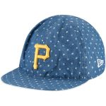 New Era Pittsburgh Pirates Toddler Denim Flip 9TWENTY Adjustable Hat