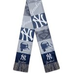 New York Yankees Navy Bar Scarf