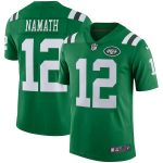 Nike Joe Namath New York Jets Green Vapor Untouchable Retired Player Limited Jersey