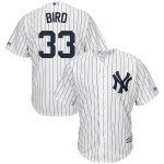 Majestic Greg Bird New York Yankees White Official Cool Base Player Jersey
