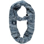 New York Yankees Navy Colorblend Infinity Scarf