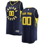 Fanatics Branded Indiana Pacers Youth Navy Fast Break Custom Replica Jersey - Icon Edition