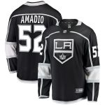 Fanatics Branded Michael Amadio Los Angeles Kings Black Breakaway Jersey