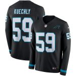 Nike Luke Kuechly Carolina Panthers Black Therma Long Sleeve Jersey