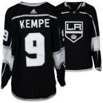 Fanatics Authentic Adrian Kempe Los Angeles Kings Game-Used #9 Black Jersey from the 2018 NHL Playoffs - Size 56
