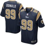 Nike Aaron Donald Los Angeles Rams Youth Navy Game Jersey