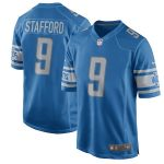 Nike Matthew Stafford Detroit Lions Youth Blue 2017 Game Jersey
