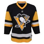 Pittsburgh Penguins Preschool Black Home Replica Jersey