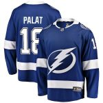 Fanatics Branded Ondrej Palat Tampa Bay Lightning Youth Blue Breakaway Player Jersey