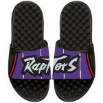 ISlide Toronto Raptors Black/Purple NBA Hardwood Classics Jersey Slide Sandals