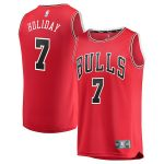 Fanatics Branded Justin Holiday Chicago Bulls Youth Red Fast Break Player Jersey - Icon Edition