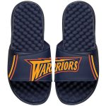 ISlide Golden State Warriors Navy NBA Hardwood Classics Jersey Slide Sandals