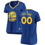 Fanatics Branded Golden State Warriors Women's Royal Fast Break Custom Jersey - Icon Edition